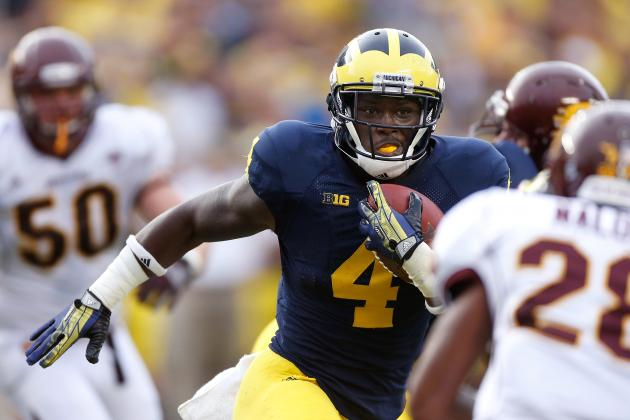 Michigan Football: How Will RB Rotation Work in 2014?