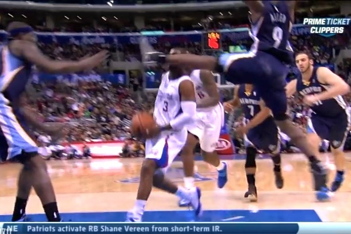 Tony Allen to Auction off Shoe Used to Kick Chris Paul's Face During Game