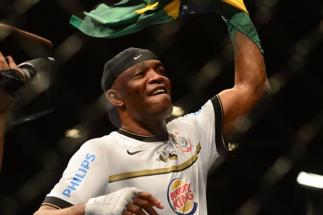 Report: Anderson Silva May Coach Alongside Chael Sonnen on 'TUF: Brazil'