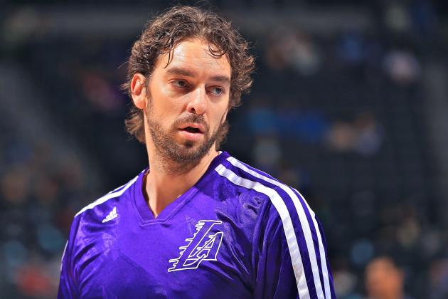 L.A. Lakers Reportedly Take Pau Gasol Off Trade Block