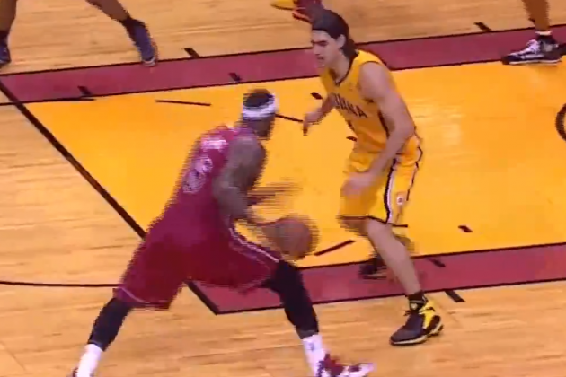 LeBron James Leaves Luis Scola in the Dust, Throws Down Vicious Dunk