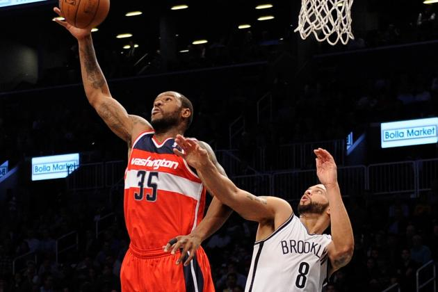 Despite Brief Reunion of Star Lineup, Nets Fall Short Against Wizards
