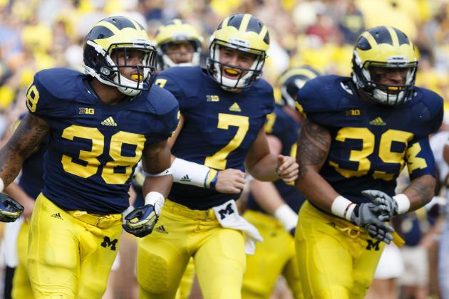 Michigan Football: Shane Morris Leading the Offense in Bowl Practice