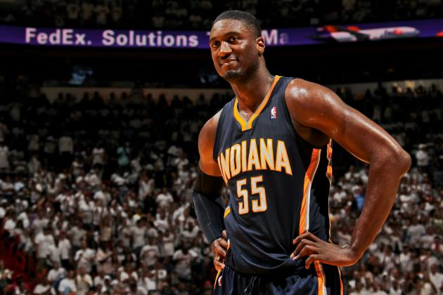 Roy Hibbert Videobombs NBA Countdown, Mocks Stephen A. Smith's Hairline
