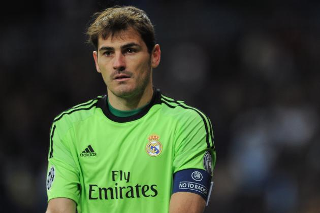 Arsenal and Manchester City Reportedly Contacted About Iker Casillas Transfer