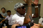 Rodman Heads for North Korea to Train Nat'l Team