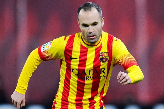 Andres Iniesta and Barcelona Agree to 3-Year Contract Extension