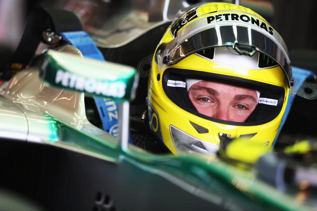 Nico Rosberg 'Needs Toilet Paper' After 320km/h Tyre Blowout