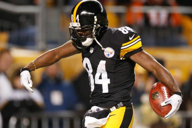 Steelers Receiver Antonio Brown Closes in on Some Notable Team Records