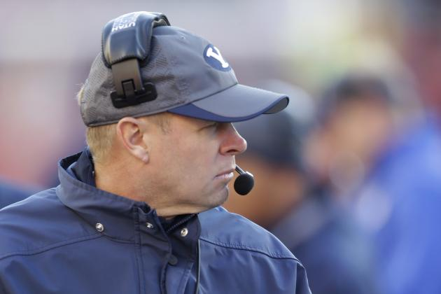 Bronco Mendenhall Speaks out Against Texas Boosters