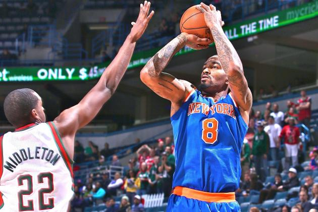 JR Smith Sets Knicks Record with 17 3-Point Attempts, Says He'll Keep Shooting