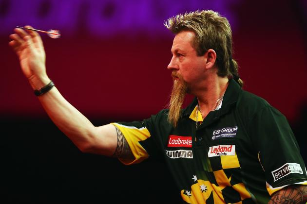 PDC World Darts Championship 2013: Ranking Most Entertaining Characters