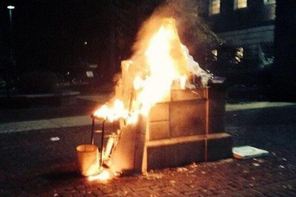Testudo Statue Fire at UMD Deemed Accidental