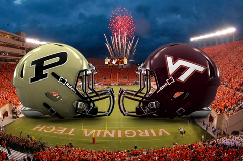 Virginia Tech Signs Contract to Play Purdue in Football