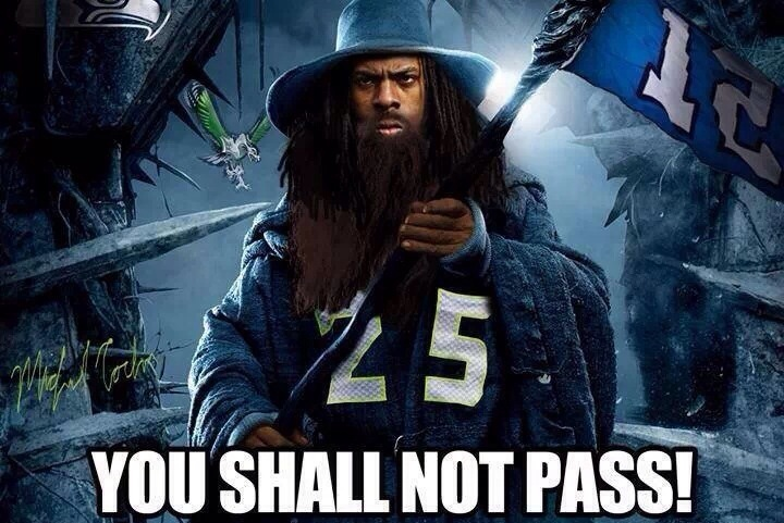 Seahawks' Richard Sherman Photoshopped as Gandalf from 'The Lord of the Rings'