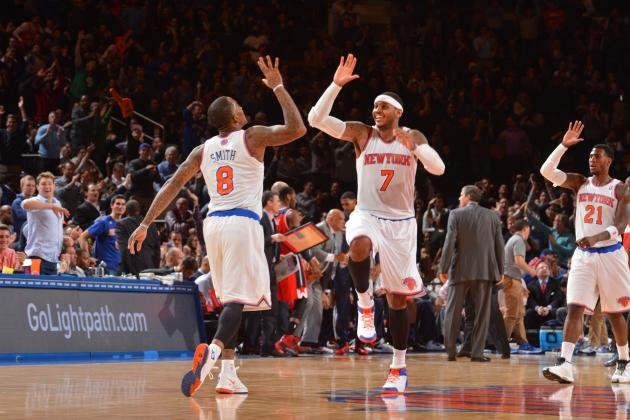 Carmelo Anthony, New York Knicks Can't Win with Flawed Team