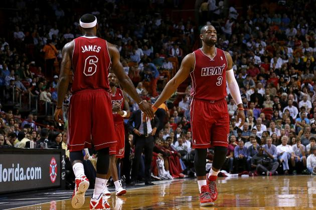 Dwyane Wade Reminding Everyone Miami Heat Are More Than Just LeBron James
