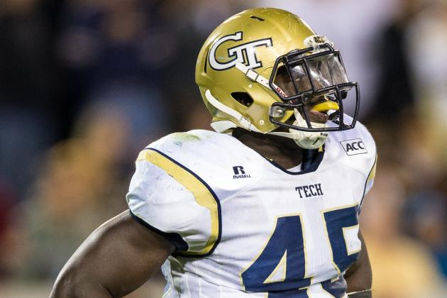 Georgia Tech Defensive End Jeremiah Attaochu Named All-American