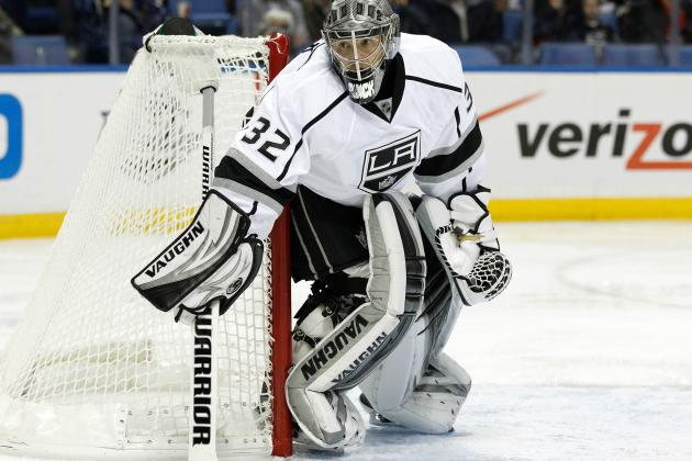 Kings Won't Rush Jonathan Quick's Return