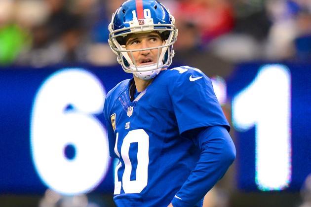 Will Eli Manning Rebound from Nightmare 2013 Season?