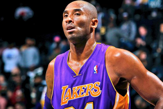 Kobe Bryant Injury Update: Lakers Star Out 6 Weeks with Fracture in Knee