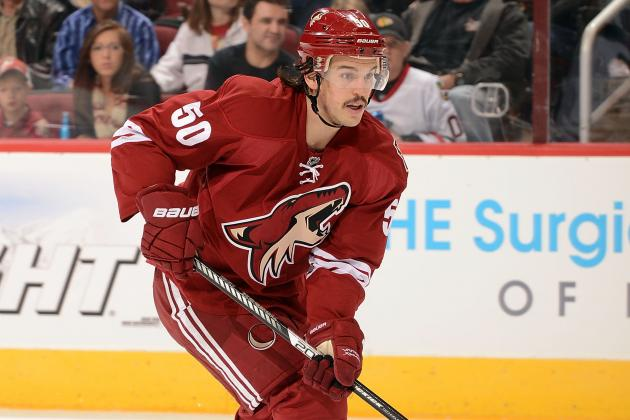 What Phoenix Coyotes Need from Antoine Vermette with Shane Doan out