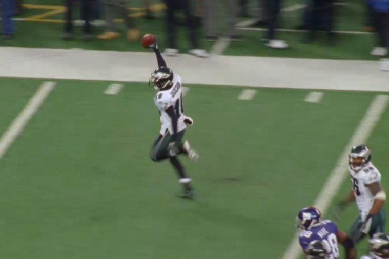Throwback Thursday: DeSean Jackson Returns the Giants' Punt 65 Yards for the Win