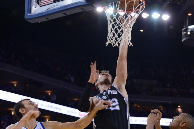 Video: Spurs' Tiago Splitter Tips in Game-Winning Basket to Beat Warriors