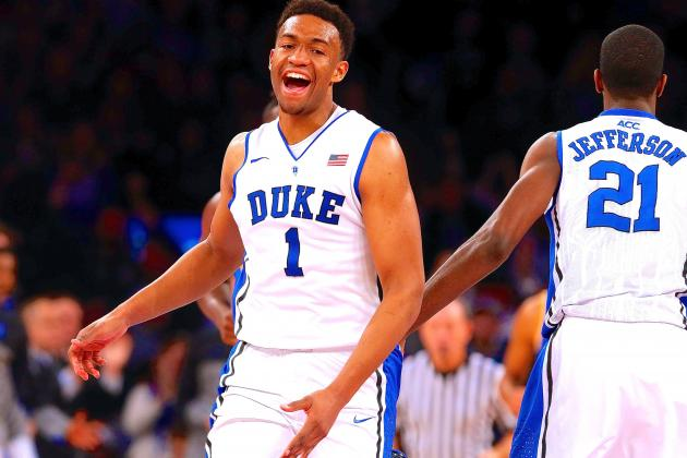 Jabari Parker's Star Rising: Duke Frosh Dazzles at Madison Square Garden vs UCLA