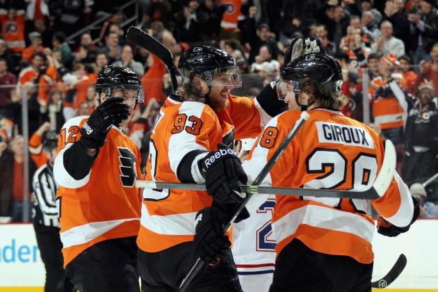 How Philadelphia Flyers' Top Line Has Been Improving Without Vincent Lecavalier