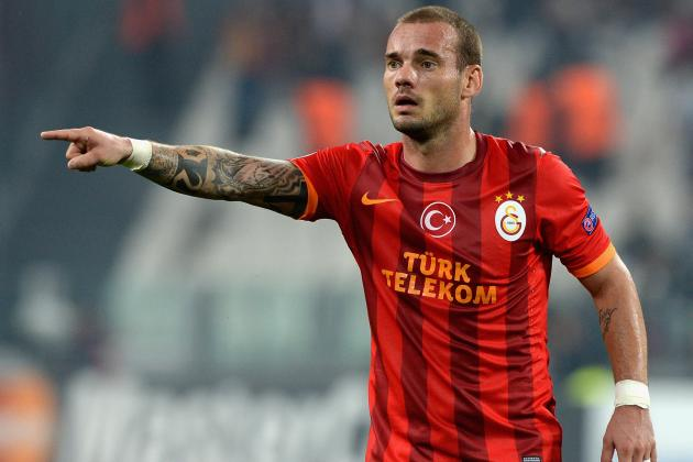 Wesley Sneijder Will Reportedly Take Pay Cut to Secure Manchester United Switch
