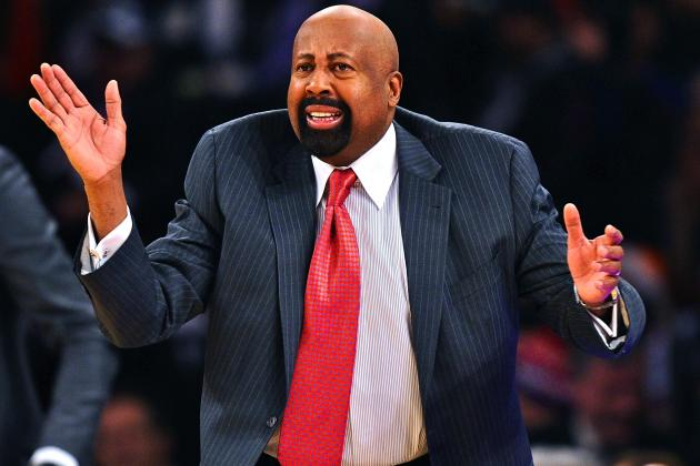 Mike Woodson Reportedly Being Evaluated by Knicks on 'Game-by-Game Basis'