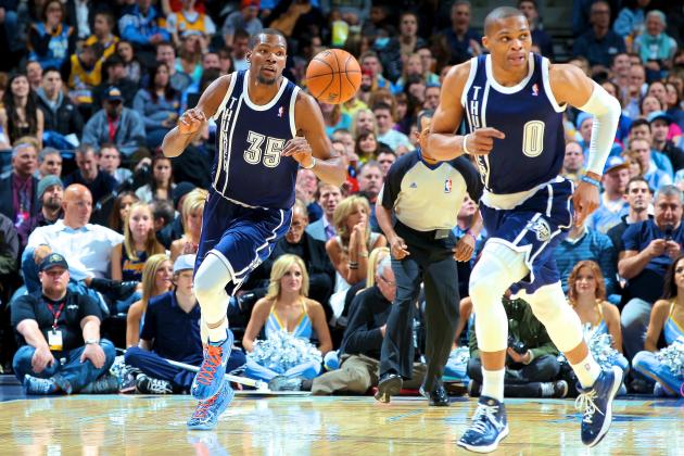 Kevin Durant and Russell Westbrook Now Unquestioned Top 1-2 Punch in NBA