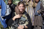 Eagles Cheerleader Joins the Army and Goes to Afghanistan