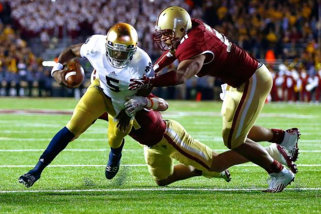 Boston College vs. Notre Dame at Fenway Park Could Be Coolest Thing Ever