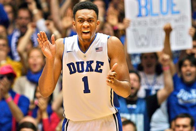 Mike Krzyzewski Does Not Expect Jabari Parker to Return to Duke Next Season