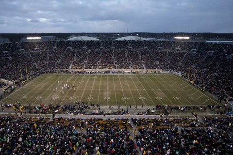 Swarbrick: Decision on Turf for Notre Dame Football Coming in Early 2014
