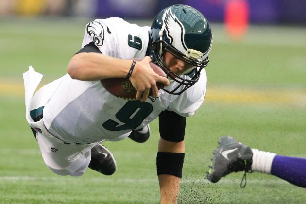 Report: Foles Fined $10K for Low Block vs. Vikings