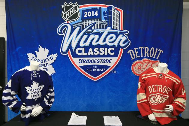 Winter Classic 2014: Previewing Matchup Between Red Wings and Maple Leafs