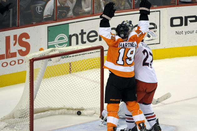 Giroux on a Roll for Flyers