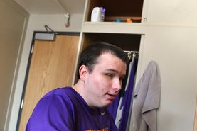 A Blind Student's Unique Place in College Hoops