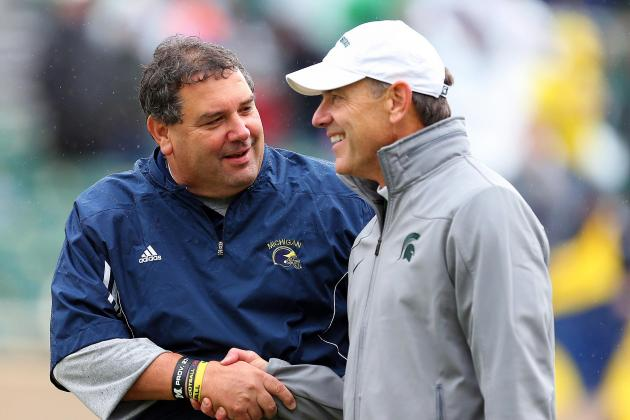 Michigan Football: Will Brady Hoke's Wolverines Catch Mark Dantonio's Spartans?