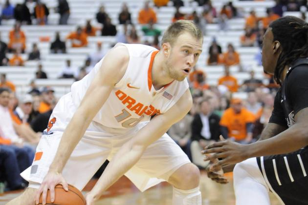 No. 2 Syracuse Runs Away From High Point 75-54