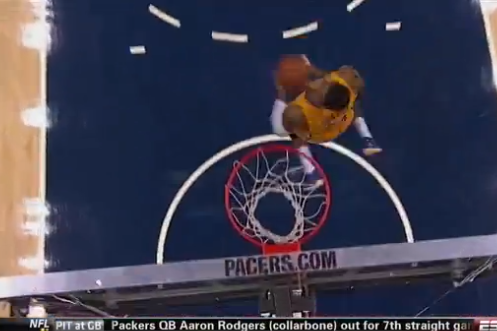 Paul George Makes Case for Dunk Contest Entry During Pacers-Rockets Game