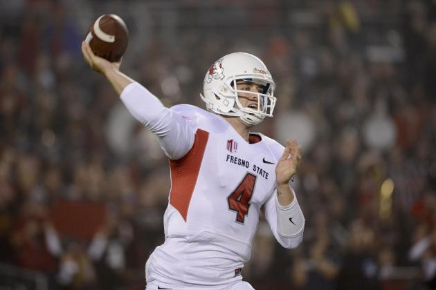 NFL Draft Predictions 2014: Quarterbacks Whose Stocks Will Take Biggest Tumble