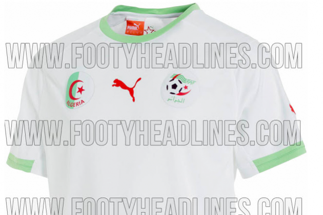 Algeria Home Shirt for World Cup 2014: Leaked [PHOTO]