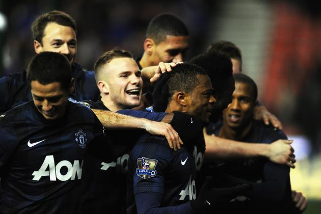 Manchester United vs. West Ham United: Live Ratings for the Red Devils