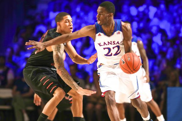 Kansas Overcomes Early Hoyas Run to Rout Georgetown 86-64 in Lawrence