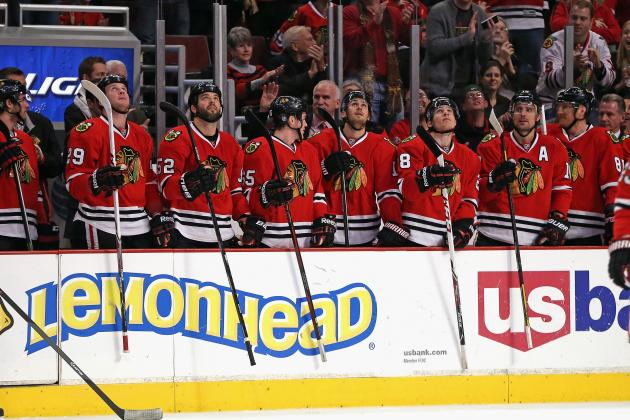 Chicago Blackhawks: Despite Points Lead, Western Conference Is Tight at Top
