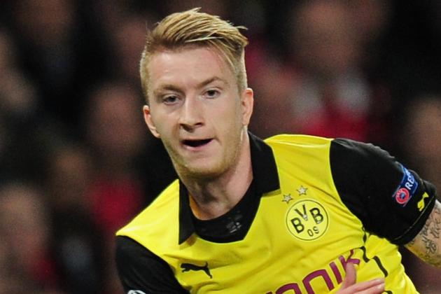 GIF: Marco Reus Scores Composed Goal, but Borussia Dortmund Lose Again